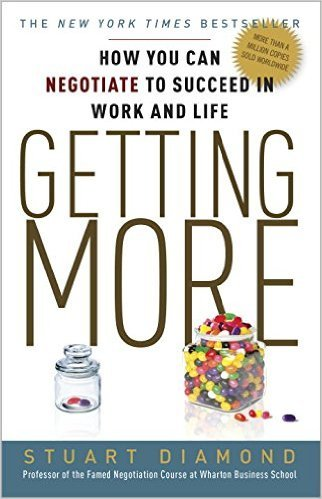 'Getting More' by Stuart Diamond